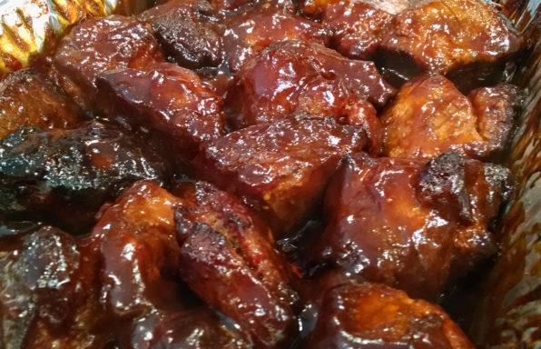 Honey Pork belly Burnt Ends Recipe